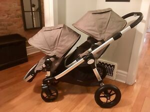 Like New City Select Double Stroller