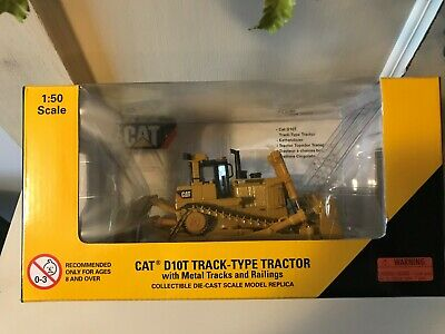 NORSCOT CAT D10T Track-Type Tractor with metal tracks and Railings 55158