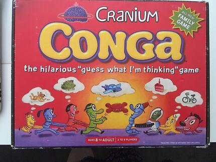 Cranium conga board game