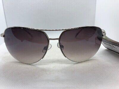 Panama Jack Semi-Rimless Women's Aviator Sunglasses Brown Lens Gold (Semi Rimless Aviator Sunglasses)