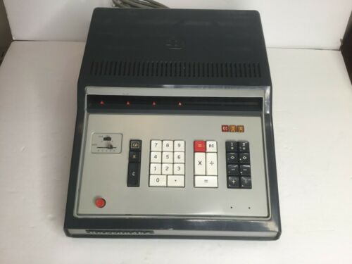 Rare Vintage Burroughs Electric Calculator Adding Machine  Model C 3350