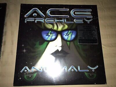 KISS ACE FREHLEY SEALED ANOMALY OPAQUE BLUE 2X LP VINYL. MINT CONDITION RARE.
