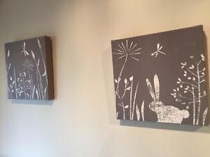 Canvas artwork baby room  Templestowe Manningham Area Preview