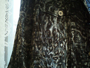 NEW RUBY RD. Women  JACKET (DENIM STYLE) SIZE 16W  BLACK SILVER ANIMAL PRINT