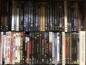 DVD Movies Entire Box for SALE (over 80 movies) $60