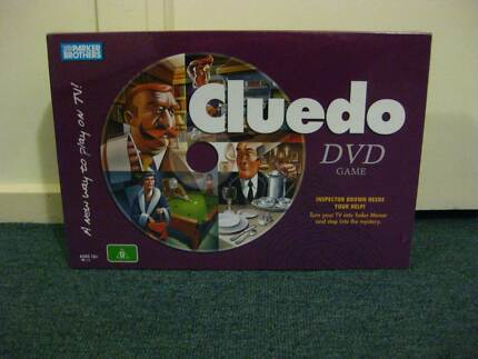 Haspro Cluedo DVD interactive board game Brand New 2005 St Albans Park Geelong City Preview
