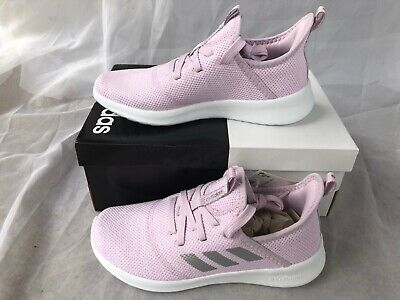 NWT Adidas Toddler Girls Cloudfoam Pure Sneakers Pink Size 12K