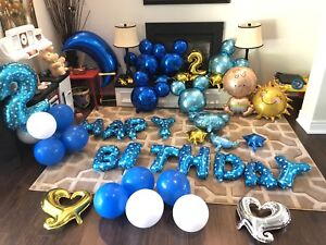 2 Years Old Boy Birthday Party Decoration