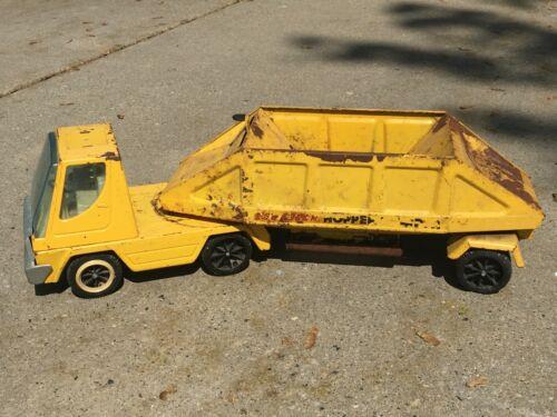 Vintage Nylint Metal Hopper Dumper - Bottom Dump