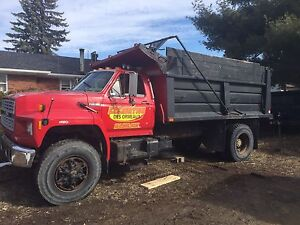 Camion a benne Ford f800