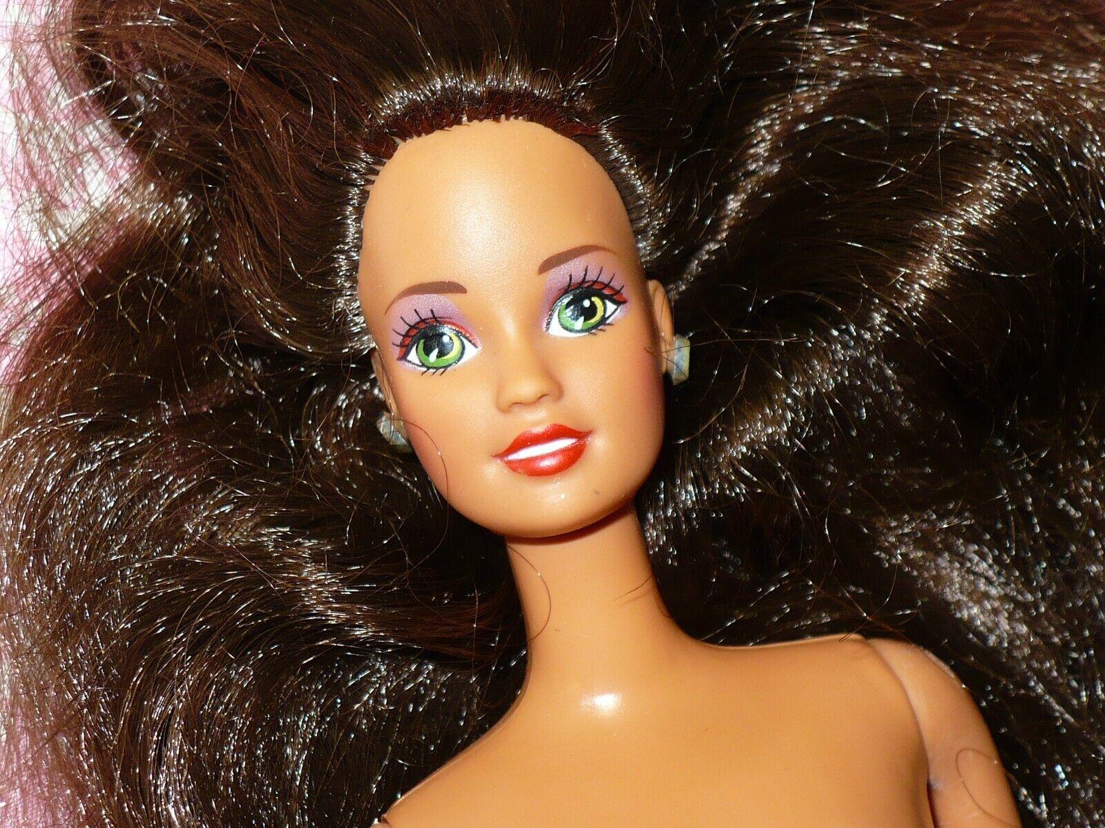 Mattel Barbie Doll SUPER STAR ERA TERESA TAN TNT Nude Naked For OOAK Or Custom - $23.99
