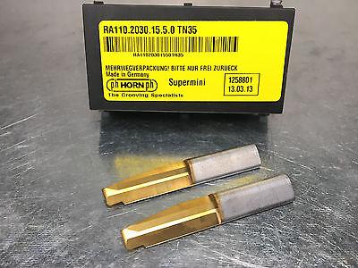 2 Ph Horn Ra110.2030.15.5.0 Tn35 Carbide Face Grooving Insert .118