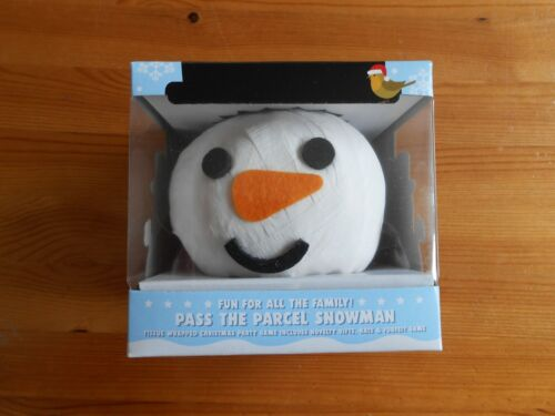 Pass The Parcel Snowman - Christmas Table Party Game