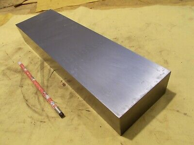 Ground Flat Steel Bar Stock Tool Die Rectangle Plate 1.985 X 4 X 14 Oal