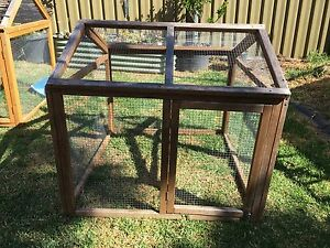 Guinea Pig / Rabbit / Poultry Cage Run Woodcroft Morphett Vale Area Preview