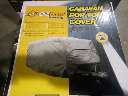 Oz Trail Caravan Cover