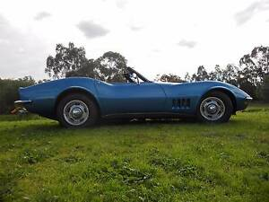 1968 Chevrolet Corvette L68 427 Factory Tripower Pascoe Vale Moreland Area Preview