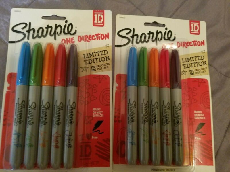 1D One direction limited edition  sharpies new never opened rare