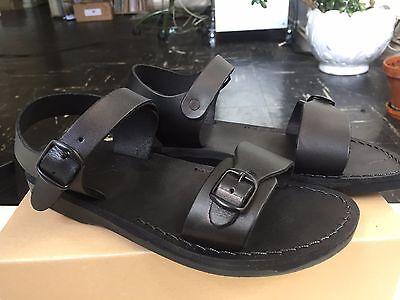 Original Jerusalem sandals. Black. Size 40. Condition: new