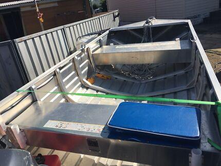 2017 sea craft  14ft tinny with 2015 30hp yamaha 2 stroke
