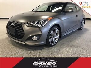 2014 Hyundai Veloster Turbo TURBO, 6 SPEED MANUAL, MATTE PAINT