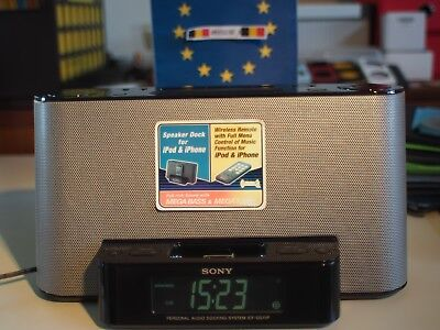 Sony Speaker Dock/Clock Radio for iPod and iPhone n1