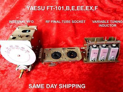 Used, YAESU FT-101 /B/E/EE/EX /F  INTERNAL VFO, TUNING INDUCTOR, RF FINAL TUBE SOCKET for sale  Hudson