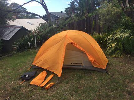 Black diamond mesa 2 person hiking tent & Black Diamond Distance Carbon FLZ Hiking Poles (PAIR) | Camping ...