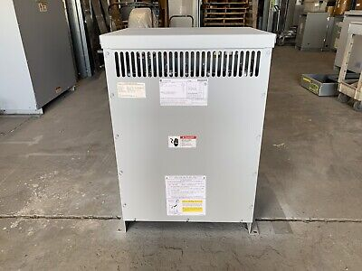 General Electric Ge Transformer 45 Kva Pri 480v Sec 208y120 3 Phase 9t10a1003