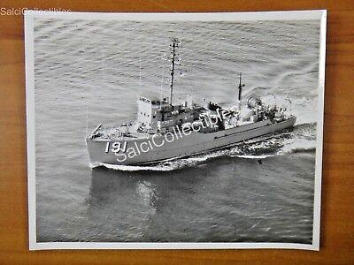 Official Us Navy Minesweeper Coastal Ship Photo 8X10 Msc 191 Uss Frigate Bird