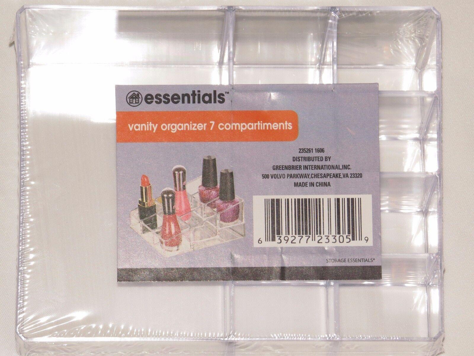 Vanity Organizer - Nail Polish and Makeup Storage