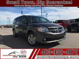 2019 Dodge Grand Caravan SXT Blacktop with DVD! JUST ARRIVED