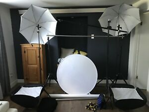 Studio photo portatif (pour flash de type speedlight)