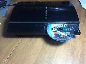 PS3 fat boy with a bunch of movies
