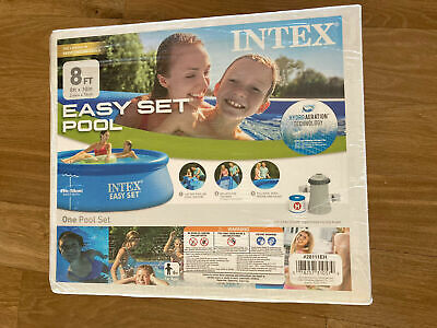 """💦NEW Intex 8' x 30"""" Easy Set Above Ground Pool Inc. Filter Pump SAME DAY SHIP💦"""