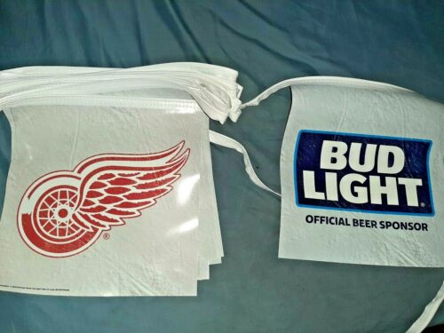bud light detroit red wings pennants 2 pack..free shipping...