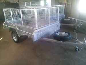 BRAND NEW 7X4 BOX TRAILER GAL WHEELS CAGE TILT SPARE Maryborough Fraser Coast Preview