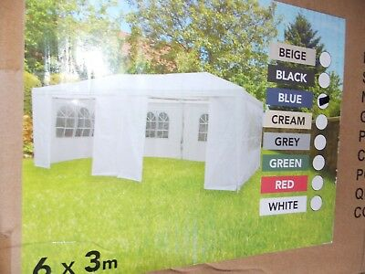 Party tent 6ftx3ft Blue new not used still boxed.