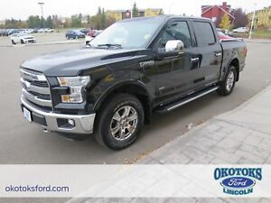 2016 Ford F-150 Lariat 2.7l Ecoboost, one previous owner, cle...
