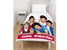 Offical One Direction 'Craze' 1D Panel Fleece Blanket Bed Throw Brand New Gift