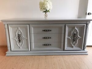 Re Finished Dresser in Grey