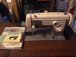 Kenmore Model 21 sewing machine & stand.