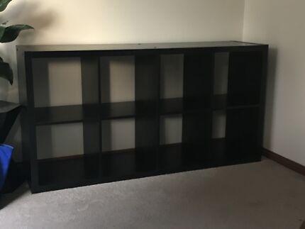 Black Oaks 4x2 storage shelf