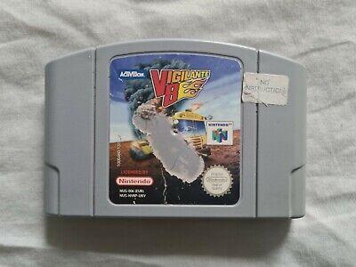 VIGILANTE 8 V8 Nintendo 64 N64 Game PAL VERSION