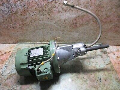 Atos Leroy Somer Mot3 Ls80lt N 3ls80lt Pfg 160 Hydraulic Oil Motor Pump Traub