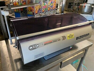 Bizerba Brs-38 Countertop Commercial Bakery Bread Loaf Slicer Cutter Works Great