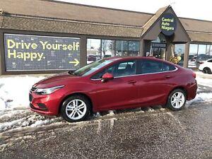 2018 Chevrolet Cruze LT / SUNROOF / HEATED SEATS / BACK UP CAMER