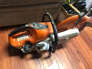 Stihl TS410 concrete saw quick sale works great come with cash