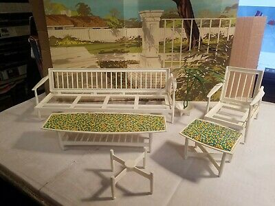 Vintage Barbie 1963 Go Together Furniture Set #4005 (almost complete)