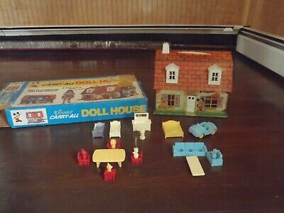 Disney Carry All Doll House early 1970's VINTAGE